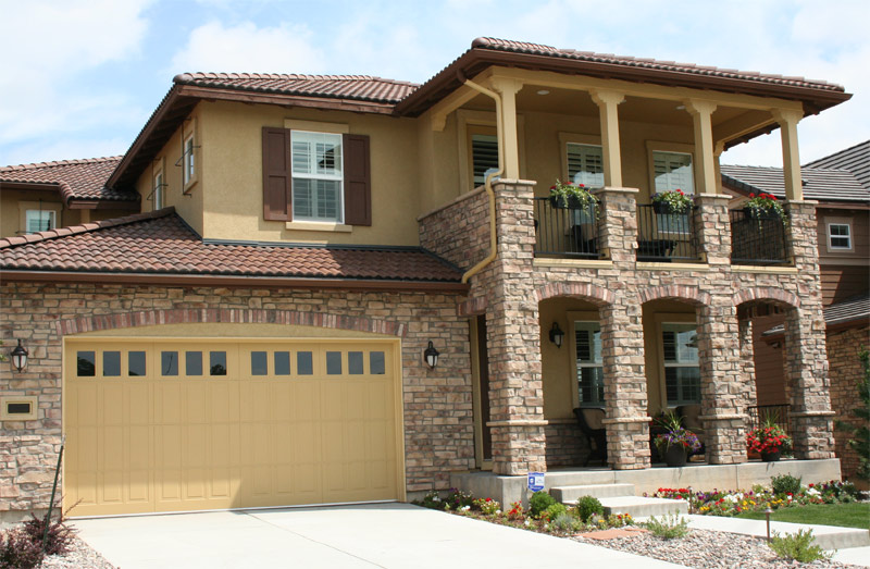 Stucco And Cultured Stone Associated Group Remodeling